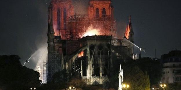 Fransa'dan Notre Dame açıklaması