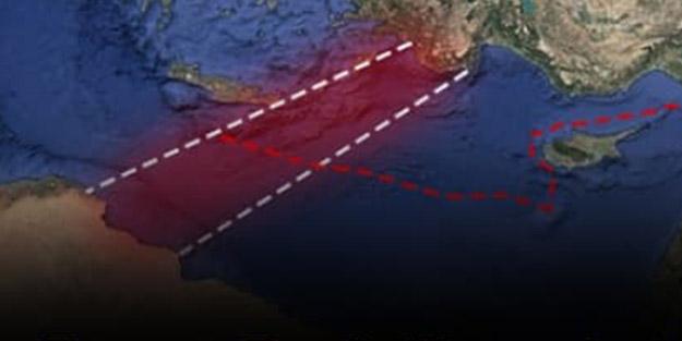 Fransız Deniz Kuvvetleri haritayı paylaştı: Türkiye için büyük başarı