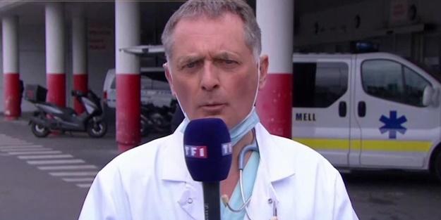 Fransız doktor isyan etti: Bizi bu noktaya getirenler hesap verecek