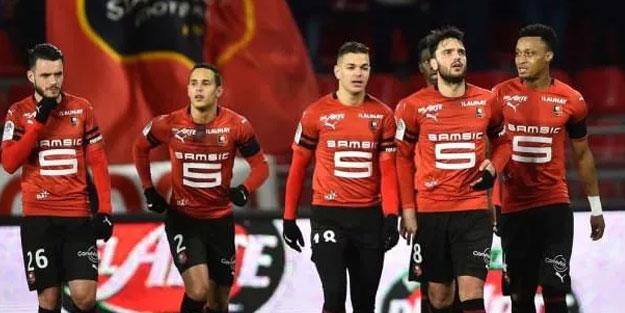 Fransız takımı Rennes Şampiyonlar Ligi biletini aldı