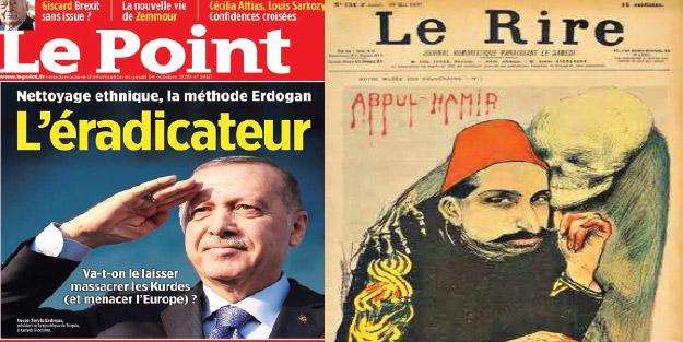 Fransızların kin, nefret ve iftirası