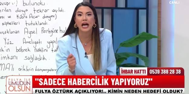 Fulya Öztürk FOX TV'de yaşanan skandalı böyle savundu: Parayı hayra kullanıyorum