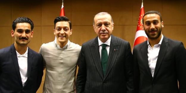 Futbolcuların Erdoğan ile görüşmesi, Almanları kudurttu!
