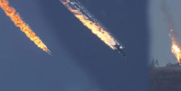Füzeyi gören Rus pilotların son hamlesi işe yaramadı