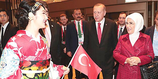 G-20'de Japon zarafeti! Tayyip Erdoğan: F-35 verilmezse tahkime gideriz