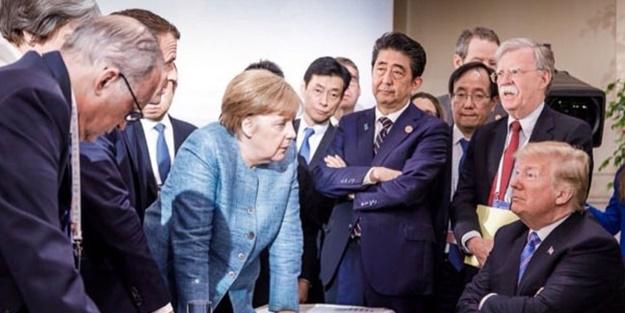 G-7 zirvesine damga vuran kare
