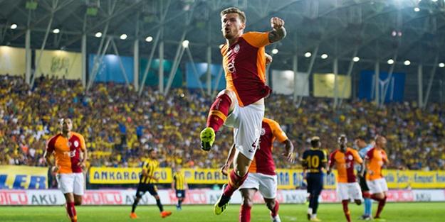 Galatasaray 3 puanı 3 golle aldı!