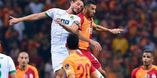 Galatasaray Alanyaspor maçı muhtemel 11'leri