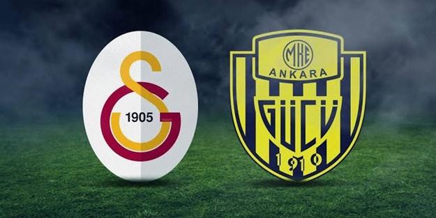 Galatasaray Ankaragücü maçı muhtemel 11'leri