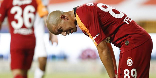 Galatasaray, Antalyaspor karşısında yıkıldı