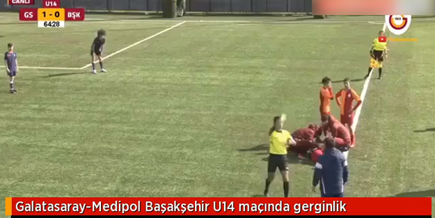 Galatasaray-Başakşehir maçında ilginç anlar! Teknik direktör çılgına döndü