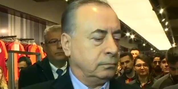 Galatasaray Başkanı Mustafa Cengiz GSStore'a yapılan saldırıyı değerlendirdi: Trabzonspor'un tepkisini merak ediyorum