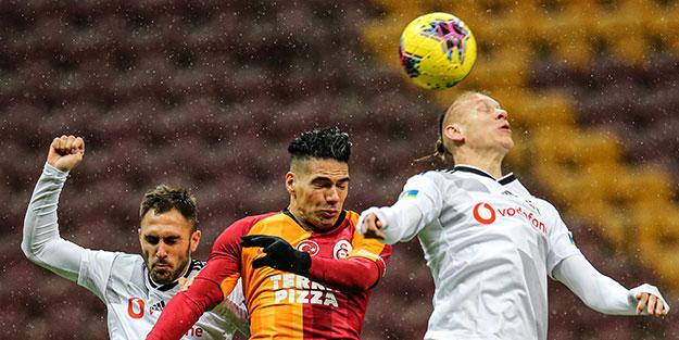 Galatasaray-Beşiktaş derbisinde kazanan yok