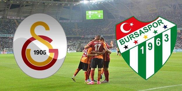 Galatasaray Bursaspor maçı ne zaman saat kaçta ve hangi kanalda