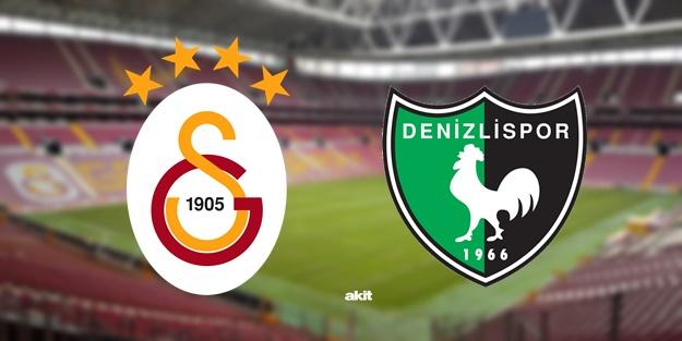 Galatasaray Denizlispor maçı muhtemel 11'leri