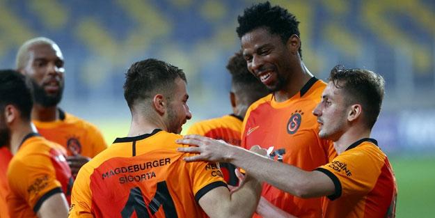 Galatasaray deplasmanda istediğini aldı