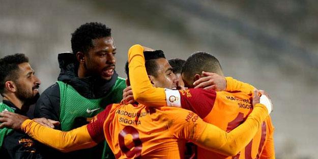 Galatasaray Erzurum'da moral buldu