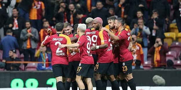 Galatasaray evinde Çaykur Rizespor'u rahat geçti