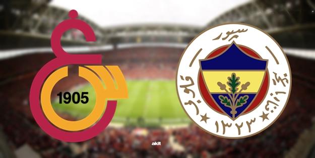 Galatasaray Fenerbahçe derbisi ne zaman? Galatasaray Fenerbahçe saat kaçta hangi kanalda?