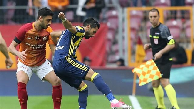 Galatasaray-Fenerbahçe derbisi sosyal medyayı salladı