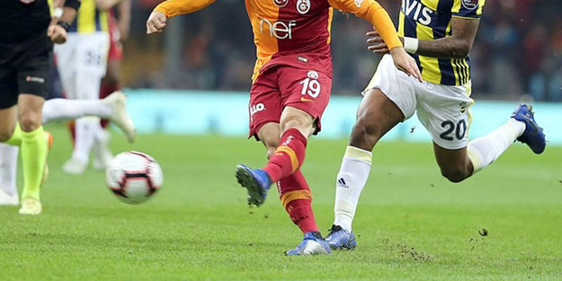 Galatasaray-Fenerbahçe derbisinde TSK detayı