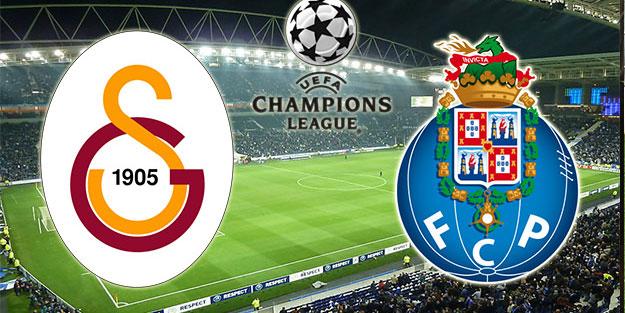 Galatasaray (GS) – FC Porto maçı ne zaman hangi kanalda ve saat kaçta?