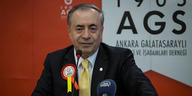 Galatasaray Kulübü Başkanı Mustafa Cengiz'den Bafetimbi Gomis açıklaması!