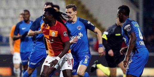 Galatasaray liderlik koltuğunu bıraktı