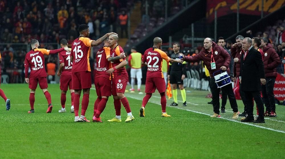 Galatasaray ligde seriye bağladı, üst üste 4. galibiyet