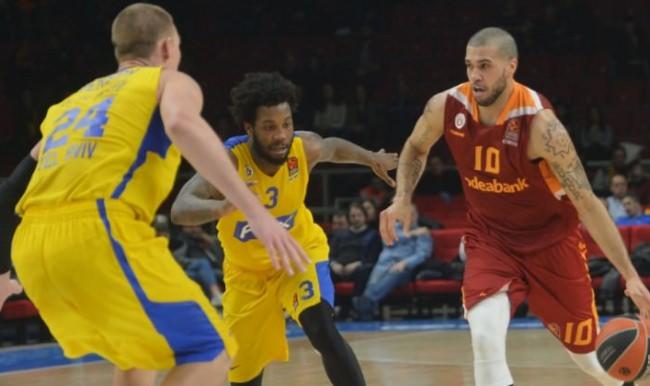 Galatasaray Maccabi'ye patladı! Büyük fark...