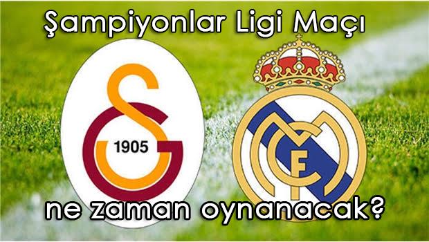 Galatasaray Real Madrid Şampiyonlar Ligi maçı ne zaman saat kaçta?