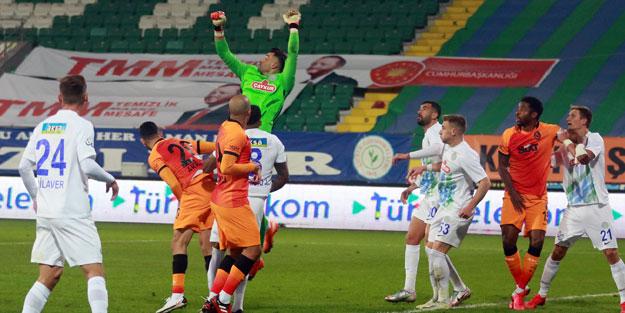 Galatasaray, Rize'yi Diagne ile dağıttı