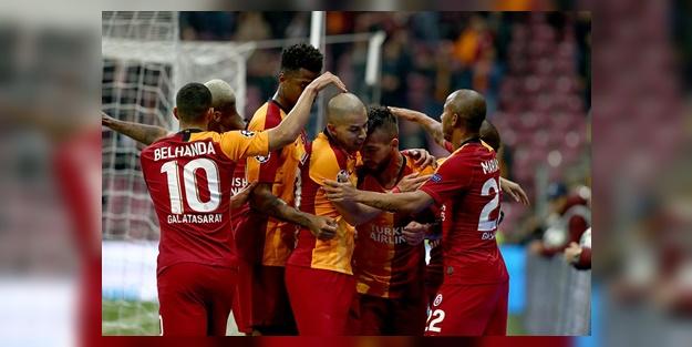 Galatasaray Tuzlaspor kupa maçı muhtemel 11'leri