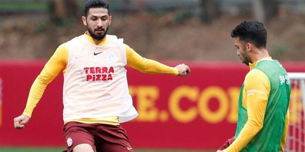 Galatasaray'da Emre Akbaba'dan iyi haber! Takımla çalıştı