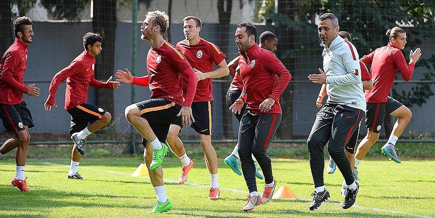 Galatasaray'da Süper Lig hazırlıkları sürüyor