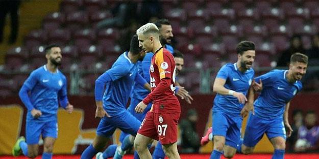 Galatasaray'ın İstanbul serüveni mağlubiyetle başladı
