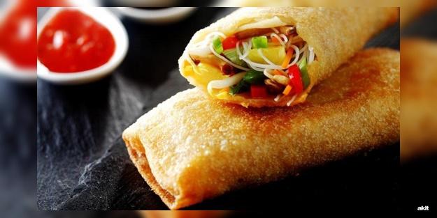 Galeta unlu Çin böreği nasıl yapılır? Kolay ve lezzetli Çin böreği tarifi