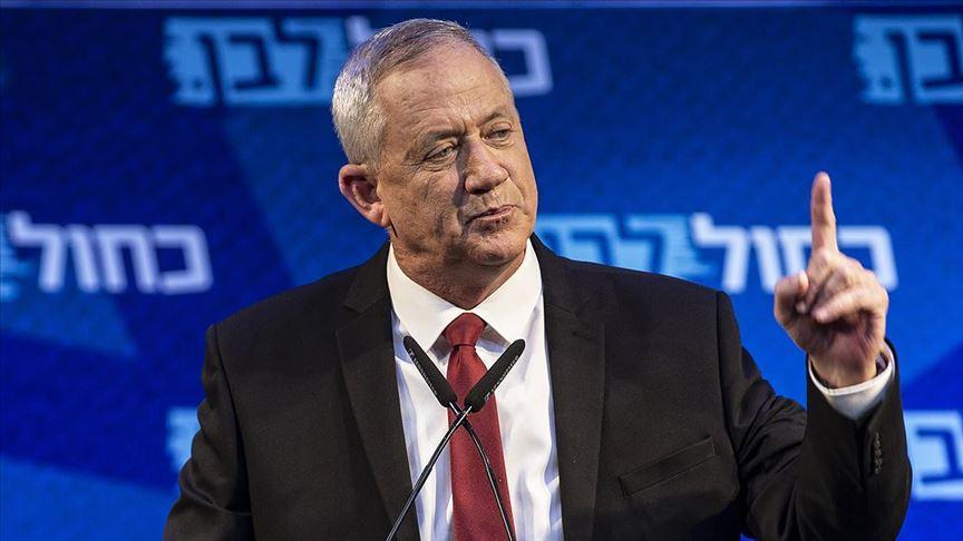 Gantz Netanyahu'nun hükümetine katılmayı kabul etmedi