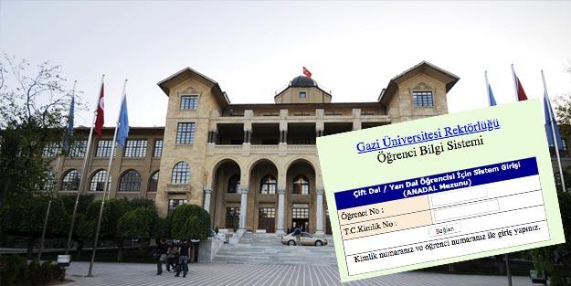 Gazi Üniversitesi OBS ders seçimi nasıl yapılır? Gazi Üniversitesi öğrenci numarası sorgulama