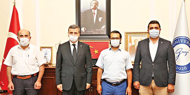 Gazi Üniversitesi Rektörü Prof.Dr. Yıldız: Mekana şeref veren insanlardır