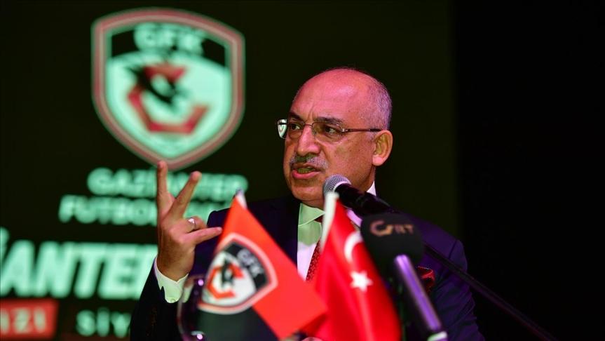 Gaziantep Başkanı Mehmet Büyükekşi: Altay'ın yaptığı pozisyon bize göre penaltı