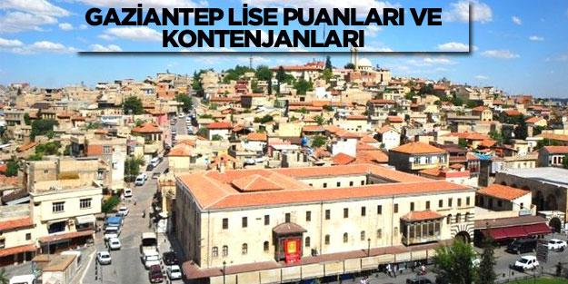 Gaziantep lise2018 taban puanları