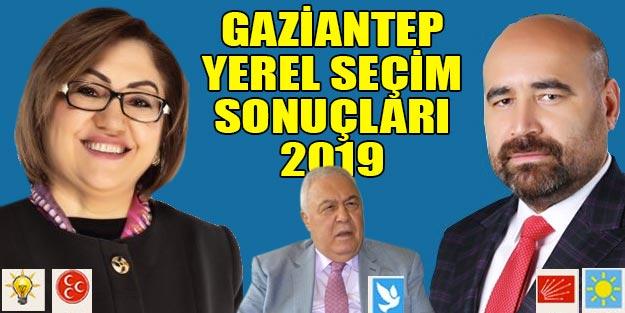 Gaziantep yerel seçim sonuçları 2019 | AK Parti DSP İYİ Parti oy oranları Gaziantep ilçeleri yerel seçim sonuçlar