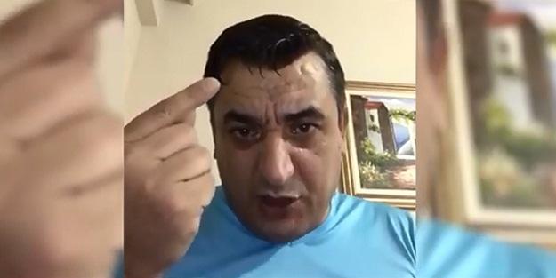 Gazianteplilere 'Evde Kal' çağrısı yapan vatandaşın görüntüleri kahkahaya boğdu
