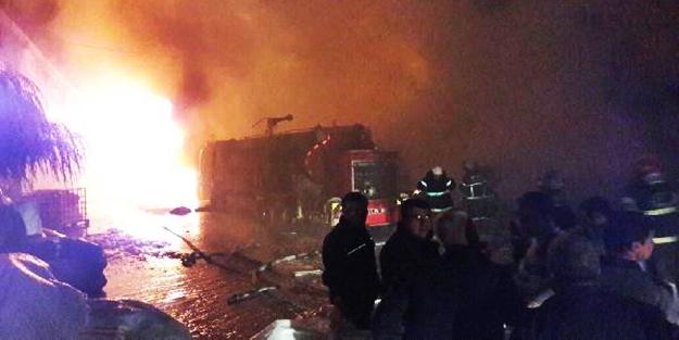 Gaziantep'te fabrika yangını: 7 kişi yaralı