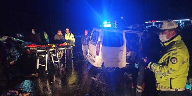 Gaziantep'te feci kaza: 2 ölü, 10 yaralı
