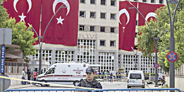 Gaziantep'te hain saldırı: 2 şehit