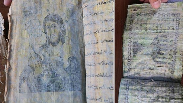 GAZİANTEP'TE JANDARMA İBRANİCE EL YAZISI İLE DİNİ RESİM VE FİGÜRLERİN YER ALDIĞI KİTAP ELE GEÇİRDİ