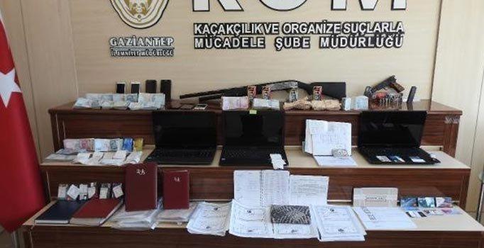 Gaziantep'te tefecilik operasyonu: 17 kişi gözaltında