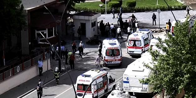 Gaziantep'teki patlamadan ilk görüntüler